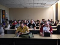 The crowd about to learn about CPTs and Taxonomies