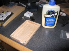 Going To Use Some Wood Glue To Thread The Holes