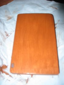 Application of second layer of stain gell.