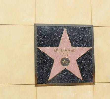 cassius clay mohamed ali walk of fame blog voyages en famille vacances avec des enfants états unis pas cher californie los angeles en famille muslim friendly halal destination mohamed ali cassius clay walk of fame