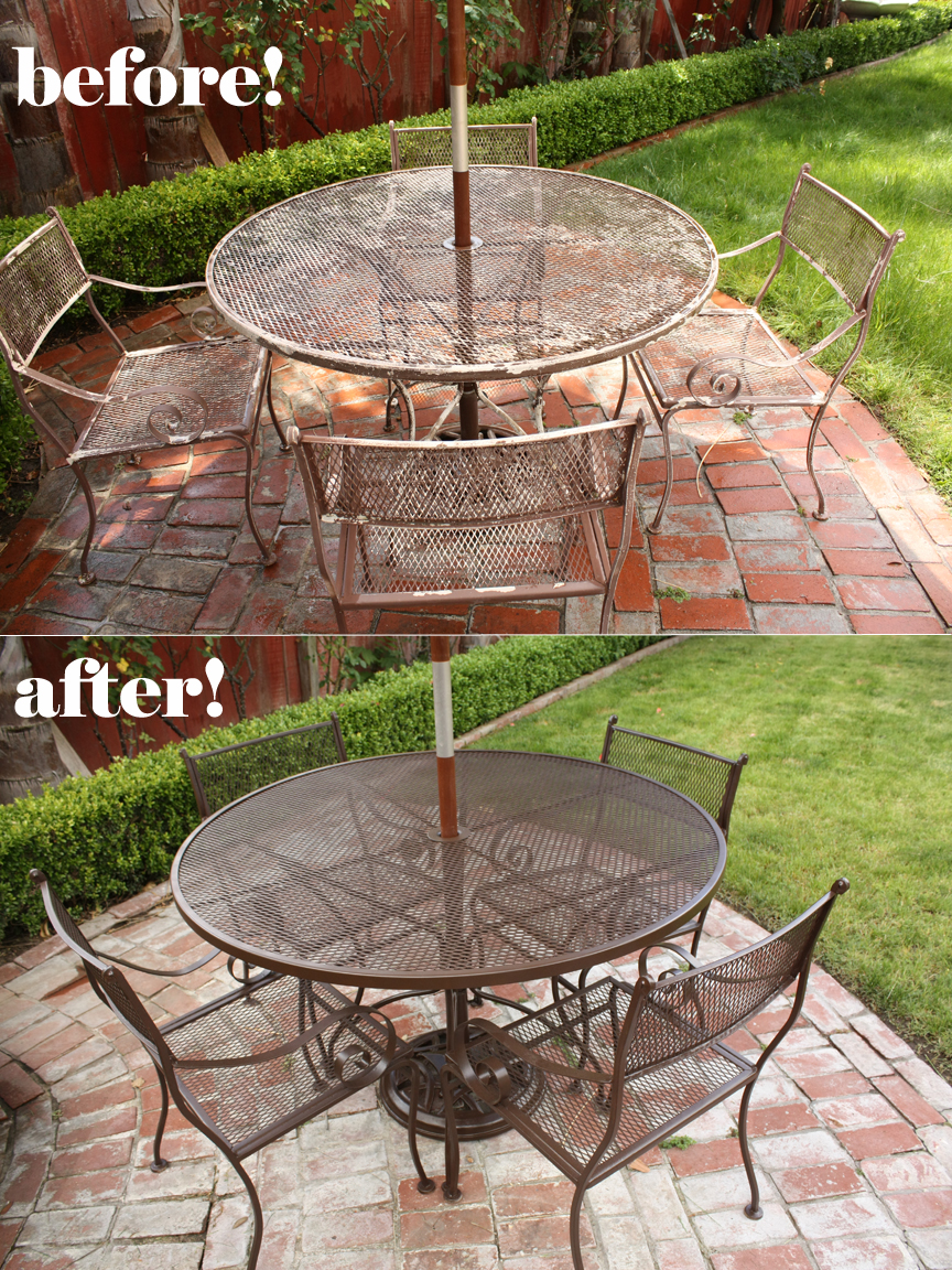 new paint job for patio furniture mt