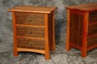 Custom Bedroom Set- Mahogany and Walnut > Montana Fine ...