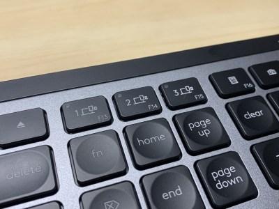 MX keys for Mac デバイス切り替えキー