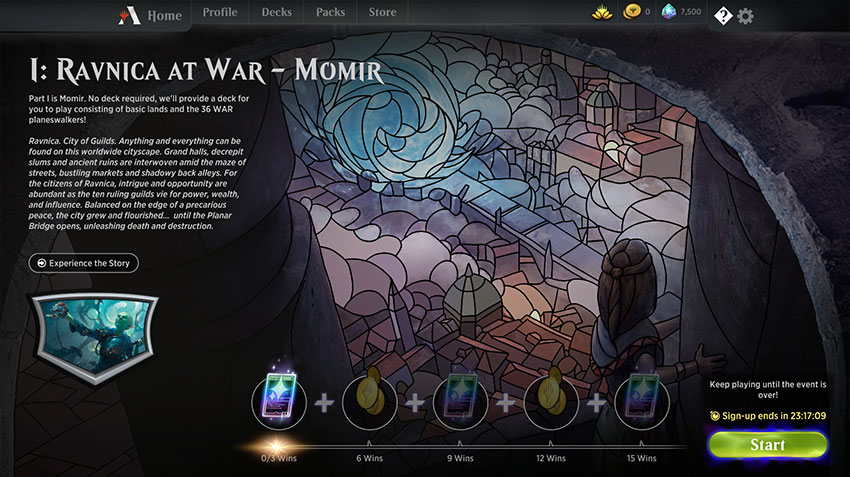 War of the Spark Chronicles Part I: Ravnica at War - Momir