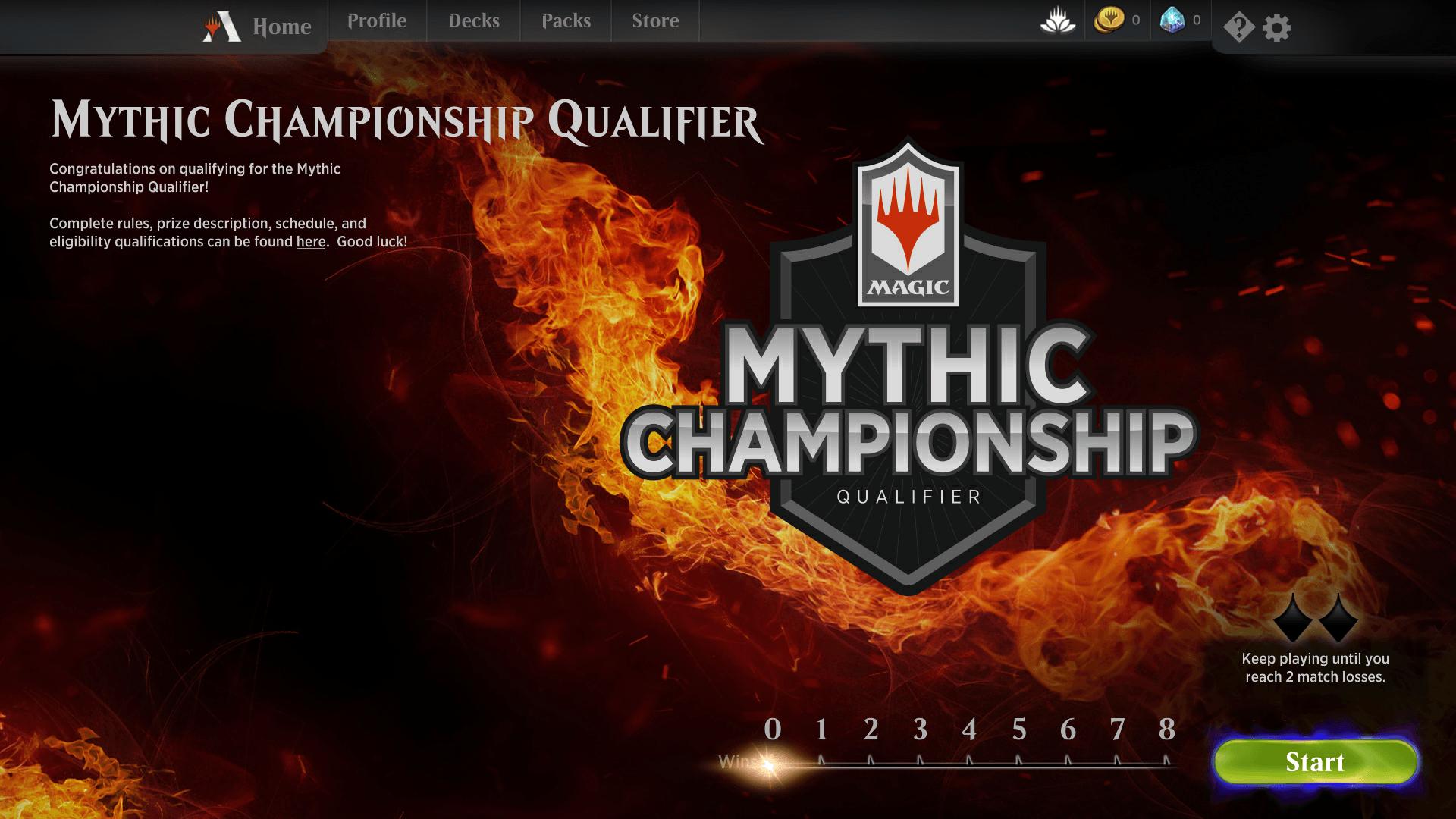 Mythic Championship Qualifier Event