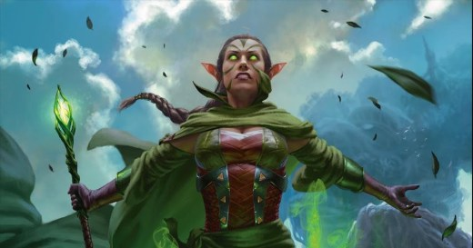 Nissa, Who Shakes the World Art by Chris Rallis