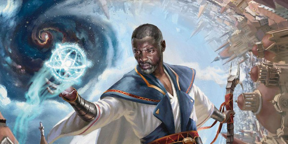Teferi, Time Raveler War of the Spark Art By Chris Rallis