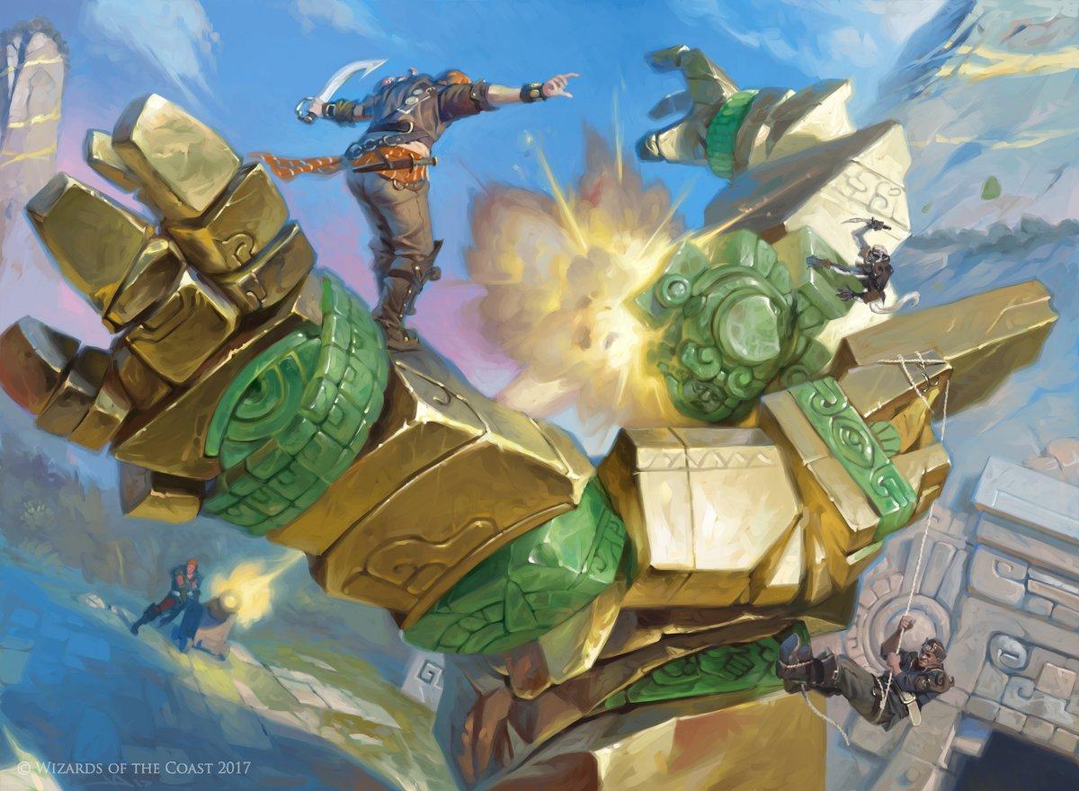 Storm the Vault (RIX) Art by Victor Adame Minguez
