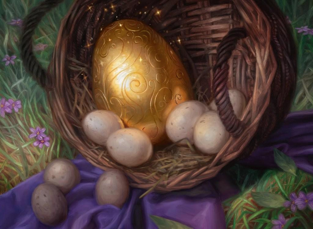 golden-egg-eld-mtg-art-lindey-look