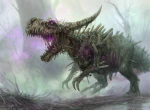 Rotting Regisaur (M20) Art by Randy Vargas