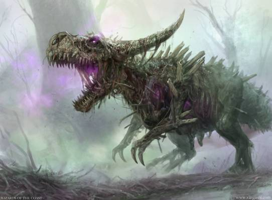 Rotting Regisaur (M20) Art by Randy Vargas