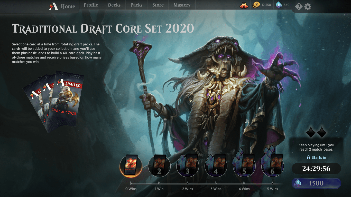 Locus of the Roil Core Set 2020 Omnath