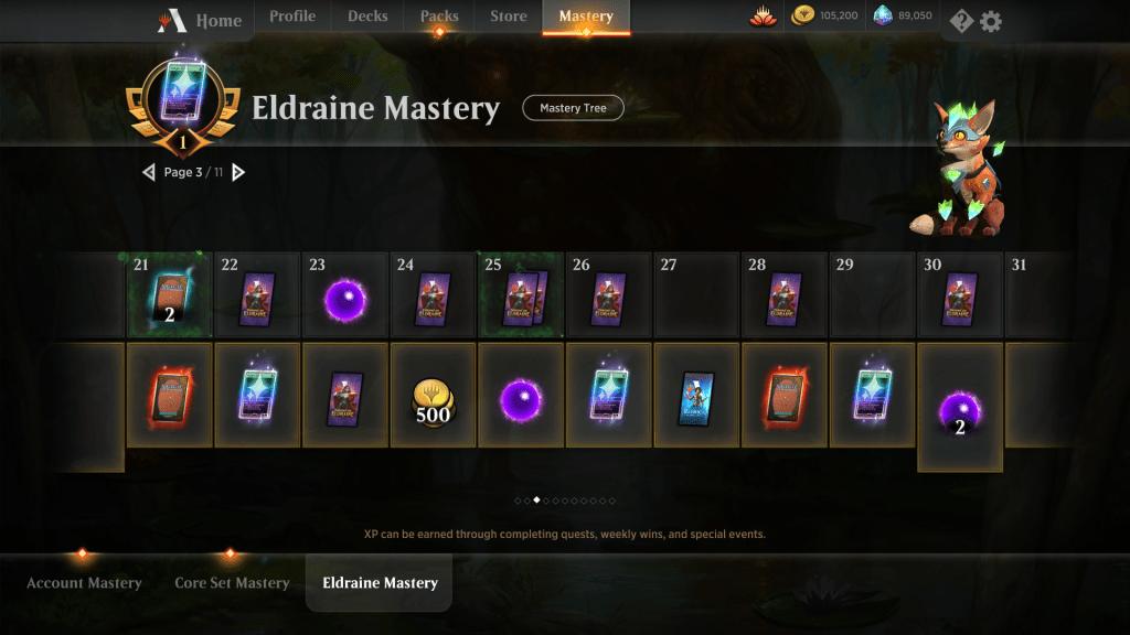 Eldraine Mastery Reward Page 3