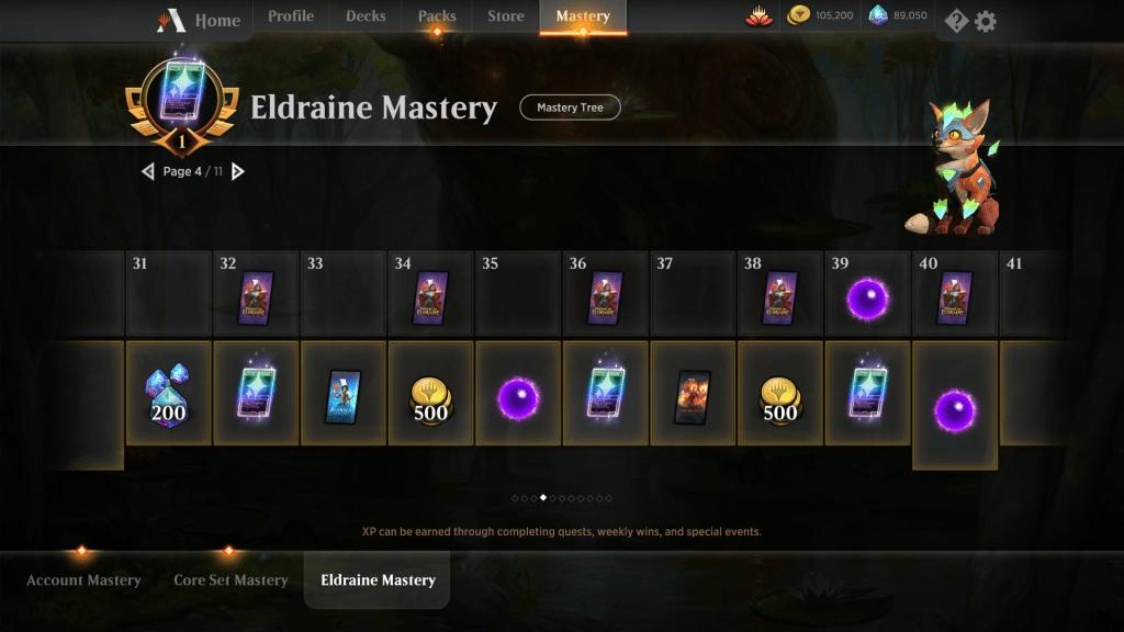Eldraine Mastery Reward Page 4