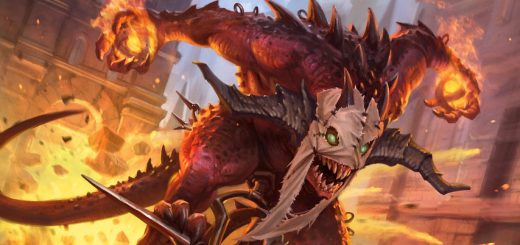 Mayhem Devil Art by Dmitry Burmak