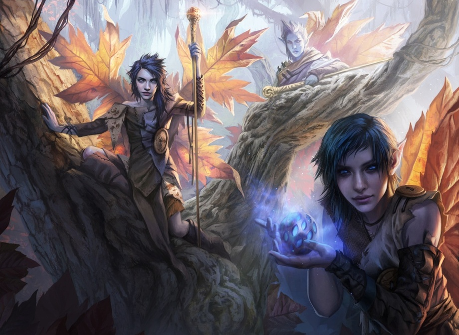 Fae of Wishes Art by Magali Villeneuve
