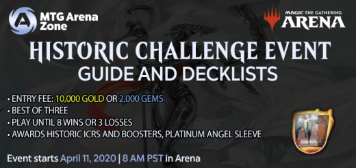 Historic Challenge Event Guide and Decklists April 2020