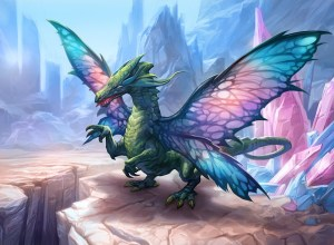 Sprite Dragon Art by Gabor Szikszai
