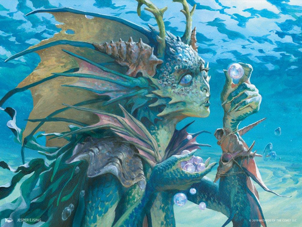 Thassa's Oracle Art by Jesper Ejsing