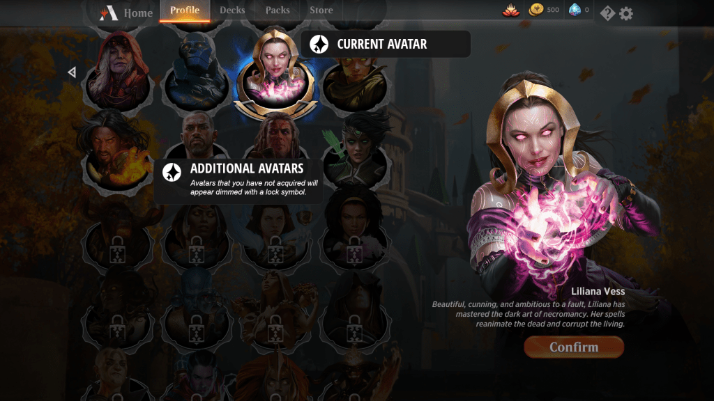 MTG Arena Avatars