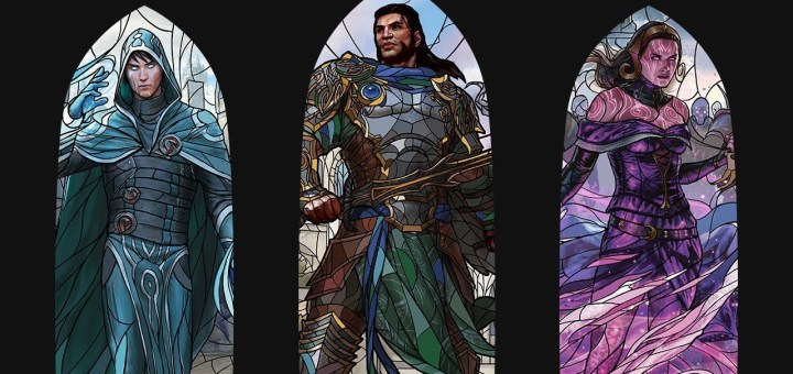 stained-glass-planeswalkers