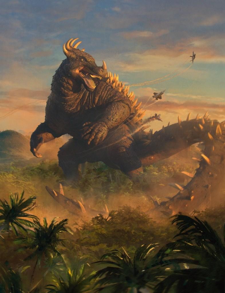 Anguirus-Armored-Beast-Art-by-Sam-Rowan