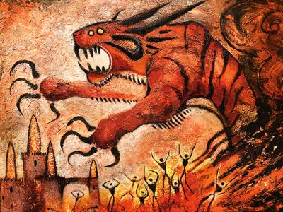 Mythos of Snapdax Art by Seb McKinnon