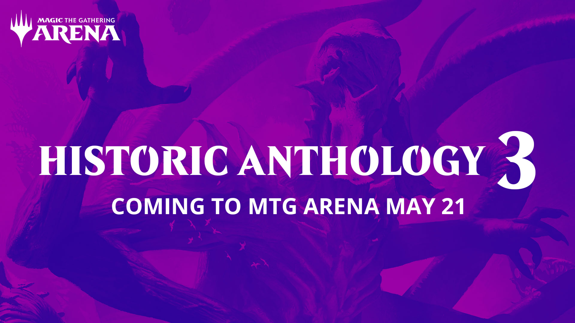 Historic Anthology 3 Coming May 21