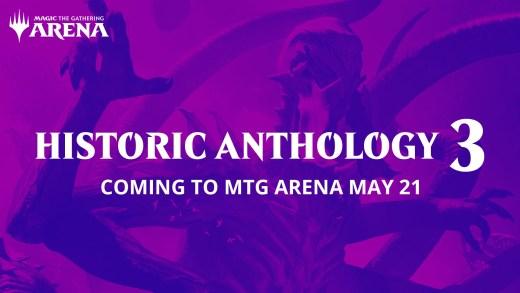 Historic Anthology 3 Coming May 21