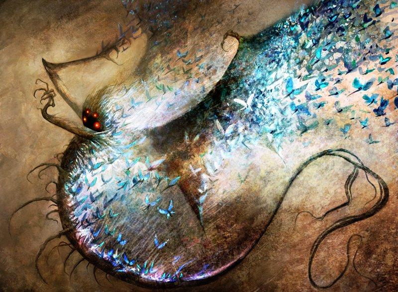 Essence Scatter Art by Seb McKinnon