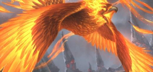 Everquill Phoenix Art by Lie Setiawan