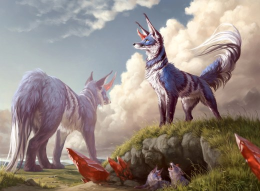 Floruishing Fox Art by Ilse Gort