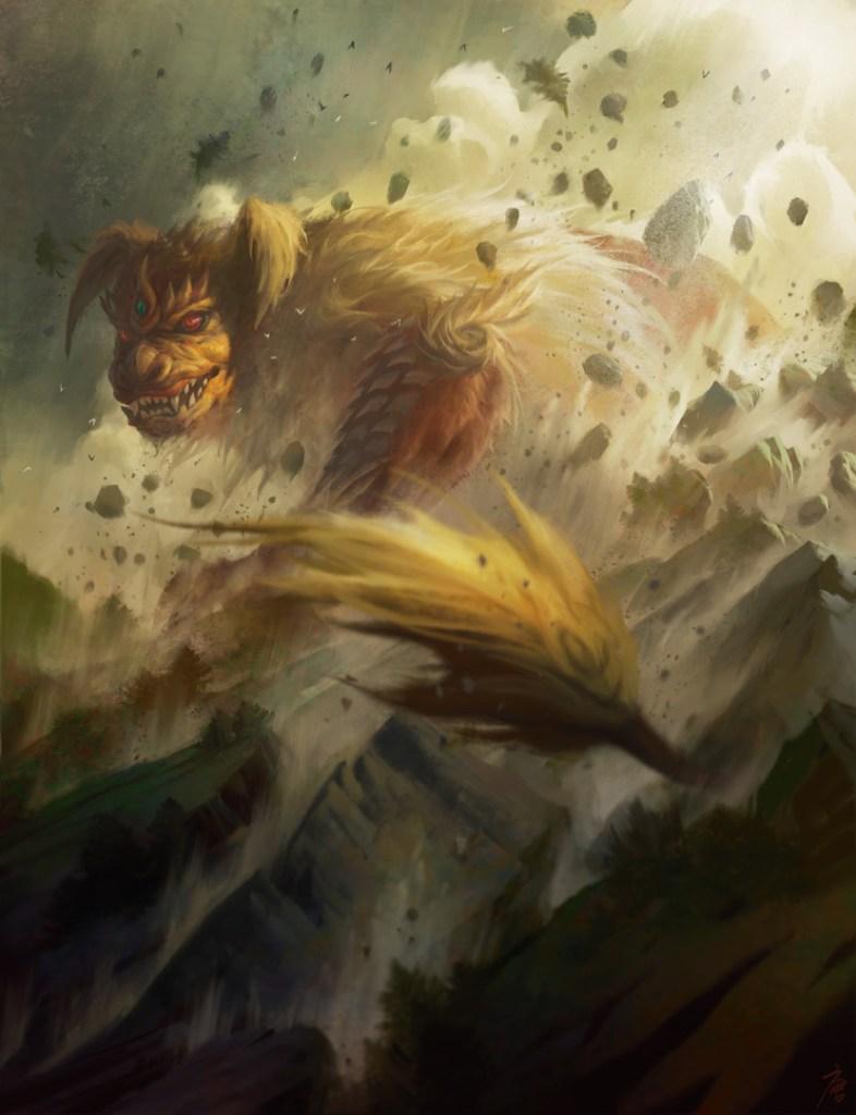 King-Caesar-Awoken-Titan-Art-by-YW-Tang