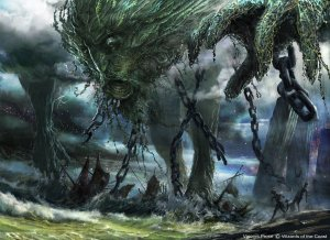 Uro, Titan of Nature's Wrath Art by Vincent Proce