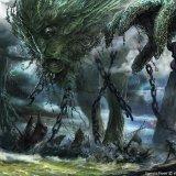 Uro, Titan of Nature's Wrath Art by Vincent Proce