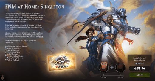 FNM at Home: Singleton