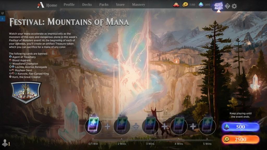 Festival: Mountains of Mana
