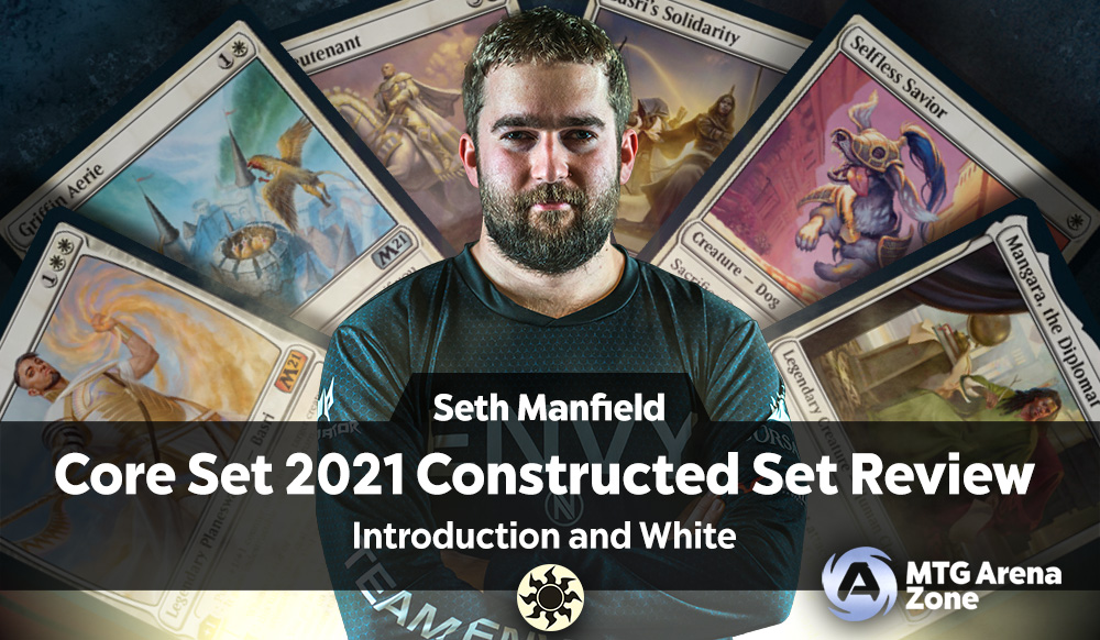 Core Set 2021 Constructed Set Review - Introduction and White