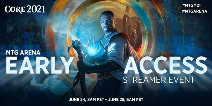 Core Set 2021 MTG Arena Early Access Streamer Event