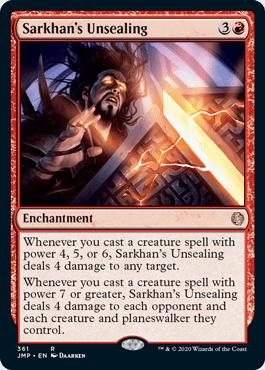 Sarkhan's Unsealing