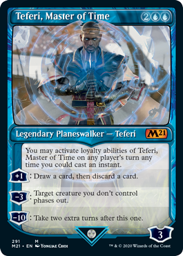 Teferi, Master of Time Card Style 2