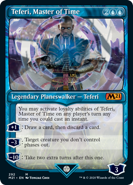 Teferi, Master of Time Card Style 3