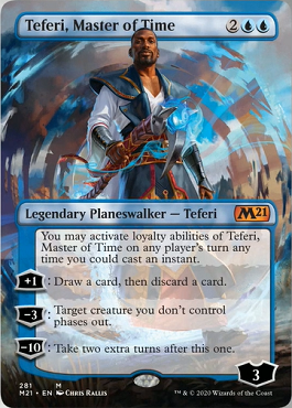 Teferi, Master of Time Card Style 5