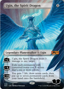 Ugin, the Spirit Dragon Card Style 2