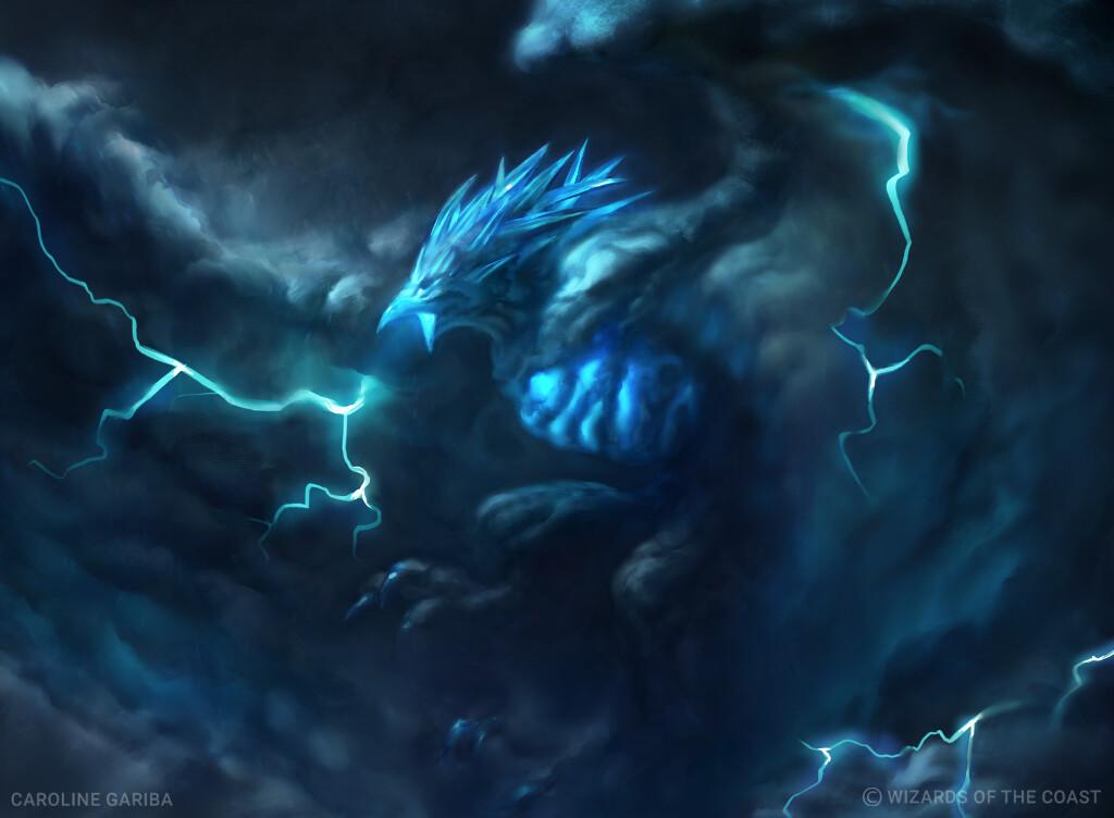 Stormwing Entity Art by Caroline Gariba