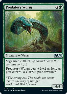 Predatory Wurm