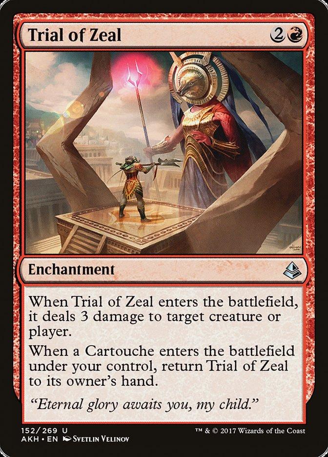 Trial of Zeal