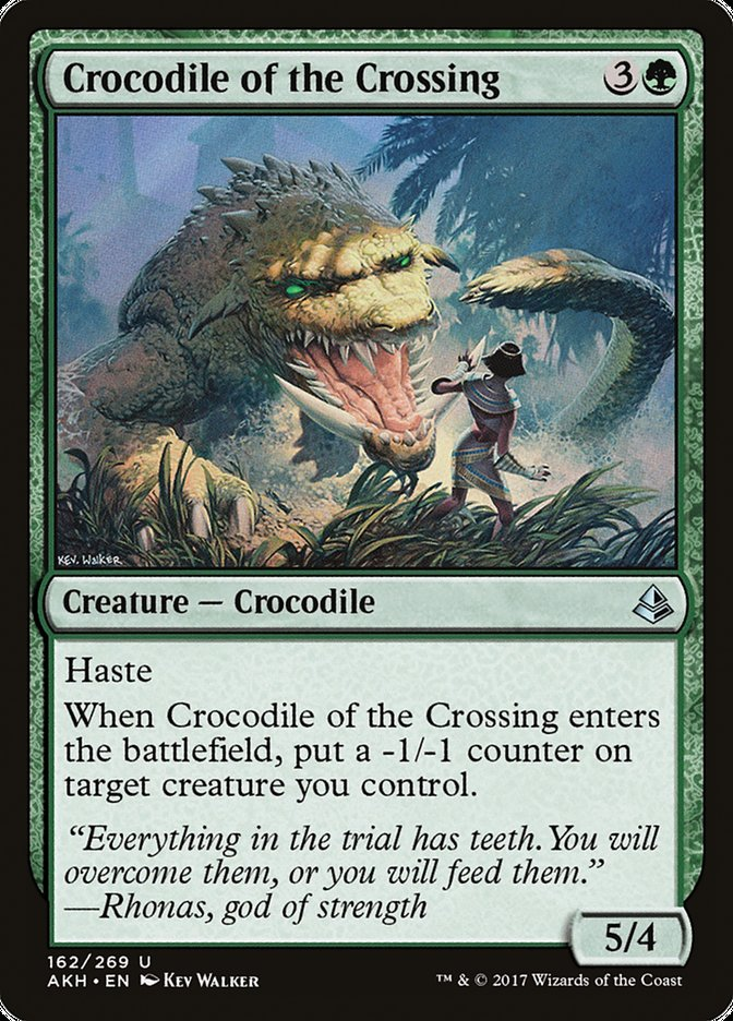 Crocodile of the Crossing