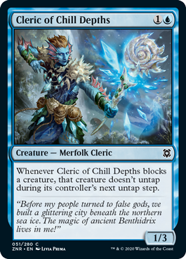 Cleric of Chill Depths