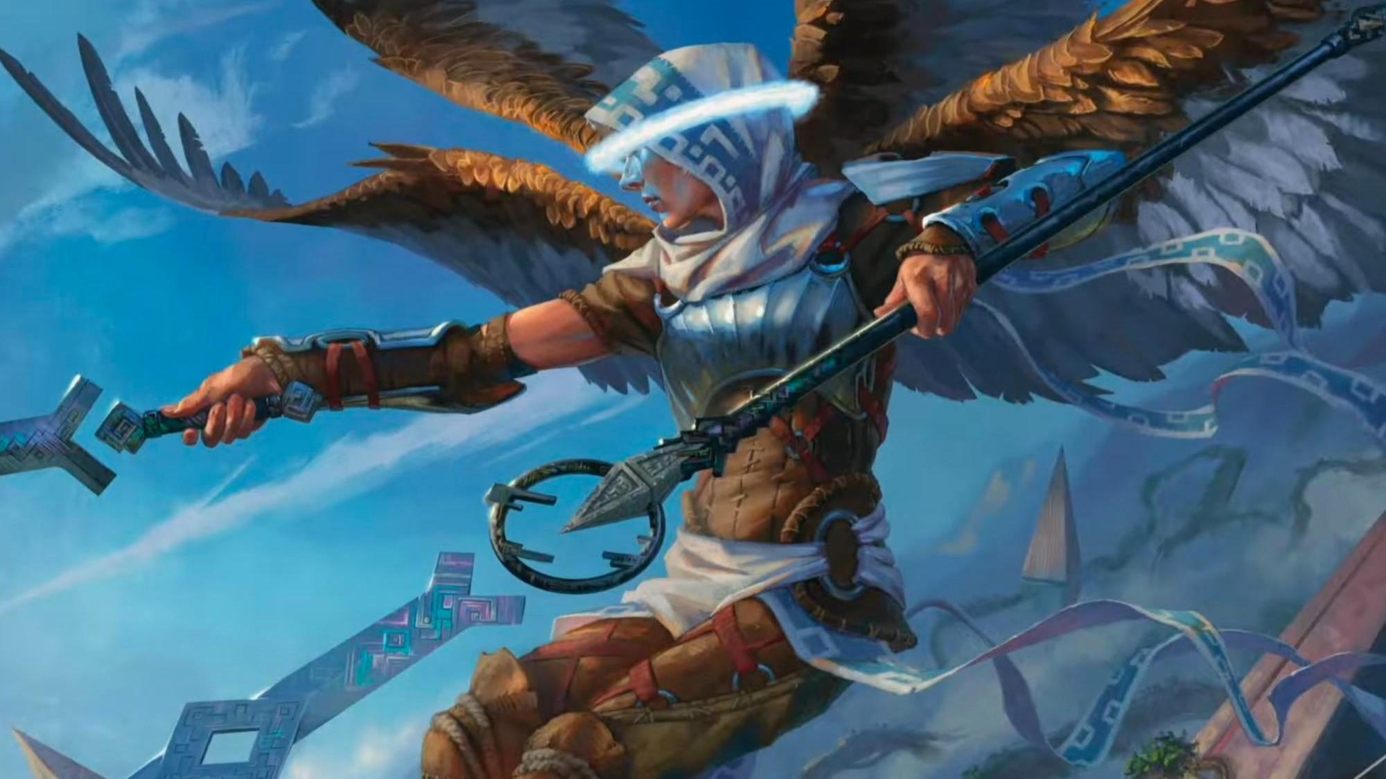 Legion-Angel-Zendikar-Rising-MtG-Art